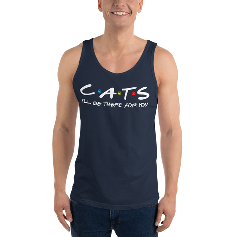 Friends - I'll Be There For You (Cat Lovers) Basic Tank
