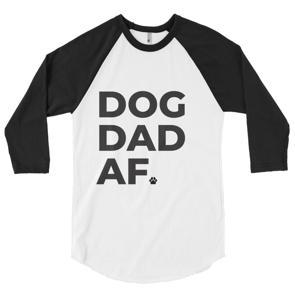 Dog Dad AF 3/4 Sleeve