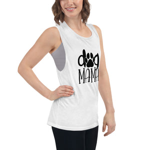Dog Mama Women's Muscle Tank