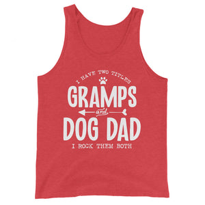 Gramps & Dogs Dad Basic Tank