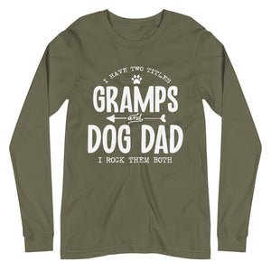 Gramps & Dog Dad Long Sleeve