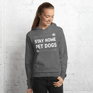 Stay Home Pet Dogs Hoodie