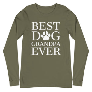 Best Dog Grandpa Ever Long Sleeve