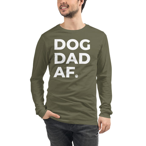 Dog Dad AF Long Sleeve