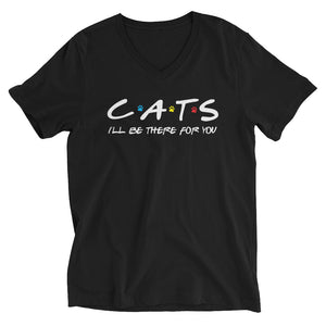 Friends - I'll Be There For You (Cat Lovers) V-Neck