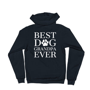 Best Dog Grandpa Ever Zip Up