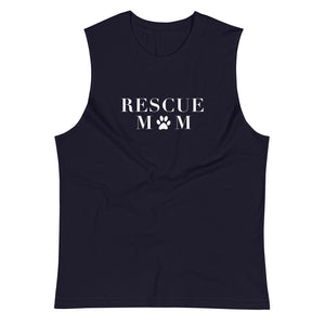 Rescue Mom Muscle Tank
