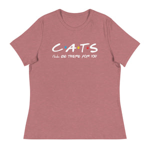Friends - I'll Be There For You (Cat Lovers) Women's Tee