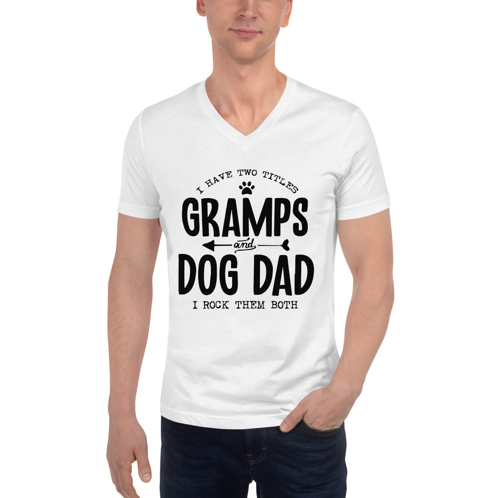 Gramps & Dog Dad V-Neck