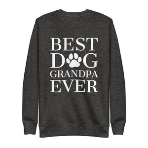 Best Dog Grandpa Ever Crew Neck