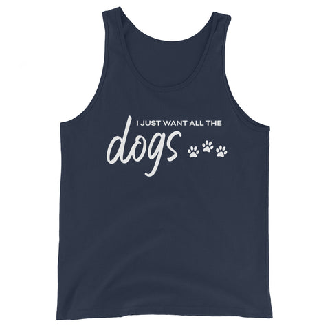 I Just Want All The Dogs Basic Tank
