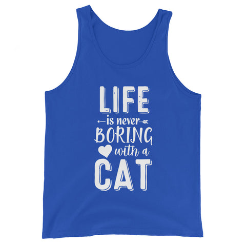 Life Is Never Boring With A Cat Basic Tank