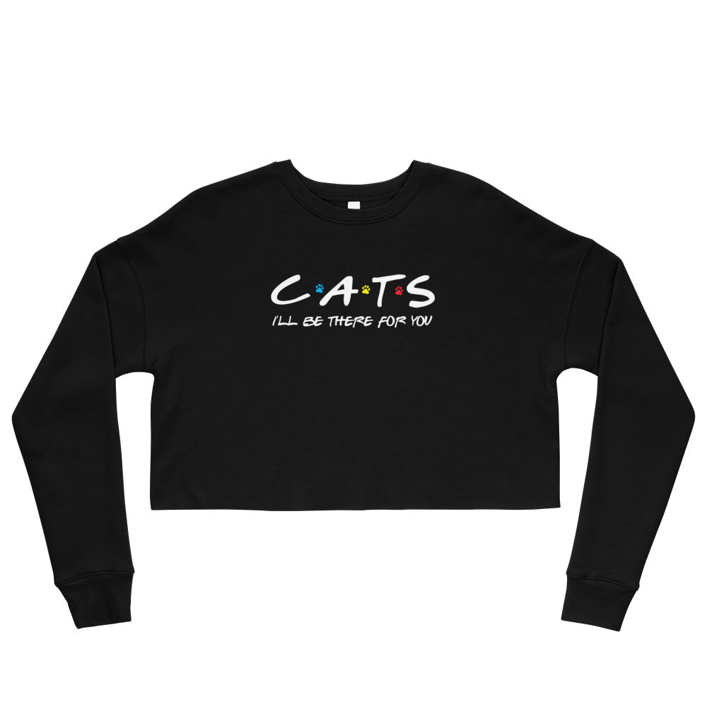 Friends - I'll Be There For You (Cat Lovers) Cropped Sweatshirt