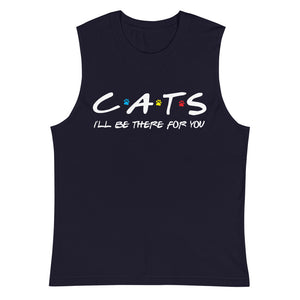 Friends - I'll Be There For You (Cat Lovers) Muscle Tank