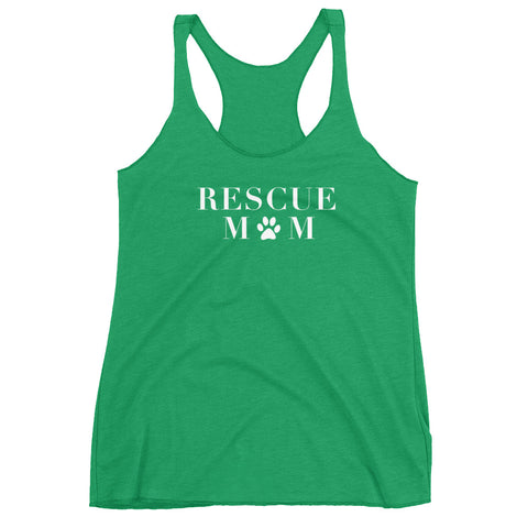 Rescue Mom Racerback Tank