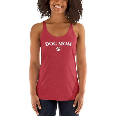 Dog Mom Racerback Tank