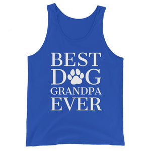 Best Dog Grandpa Ever Basic Tank