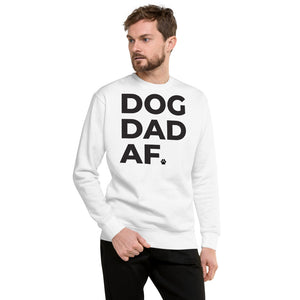 Dog Dad AF Crew Neck