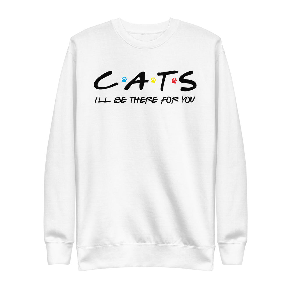 Friends - I'll Be There For You (Cat Lovers) Crew Neck