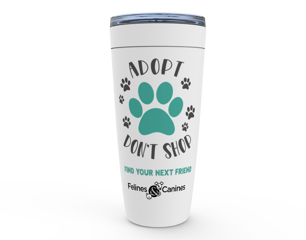 Adopt Don't Shop 20oz Tumbler