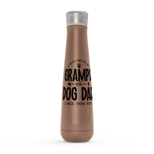 Gramps & Dog Dad Peristyle Water Bottle