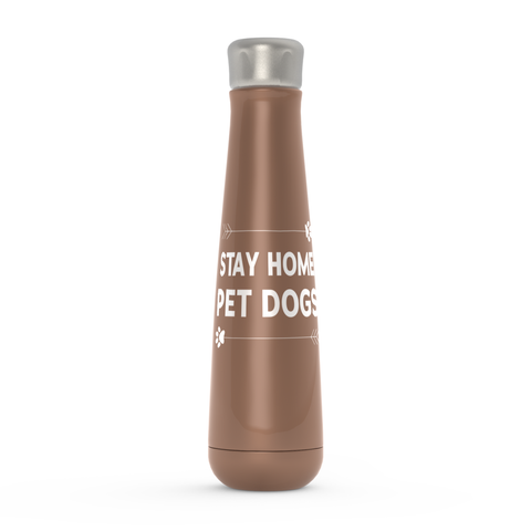 Stay Home Pet Dogs Water Bottle