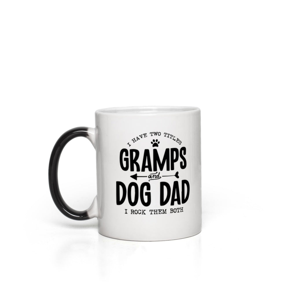 Gramps & Dog Dad Magic Mug