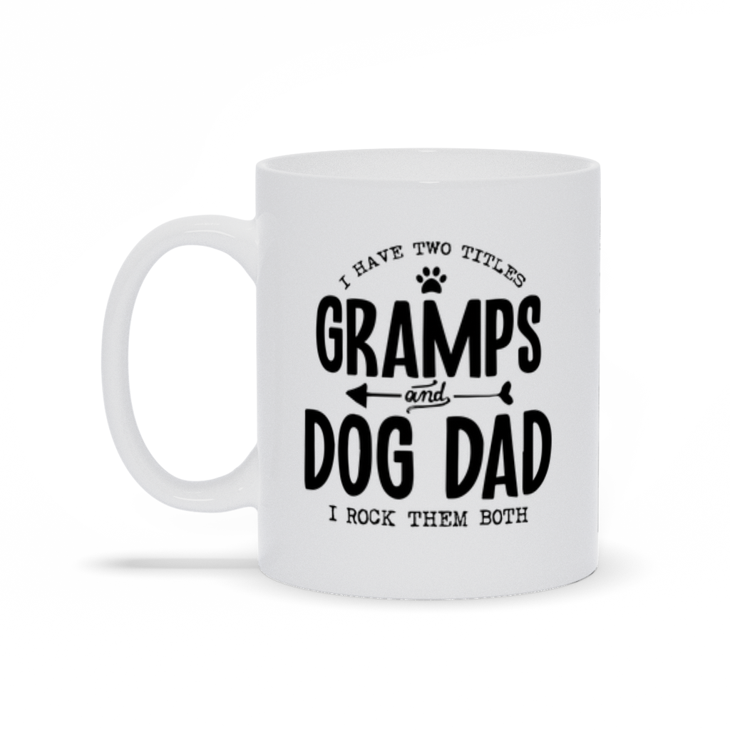 Gramps & Dog Dad Mug