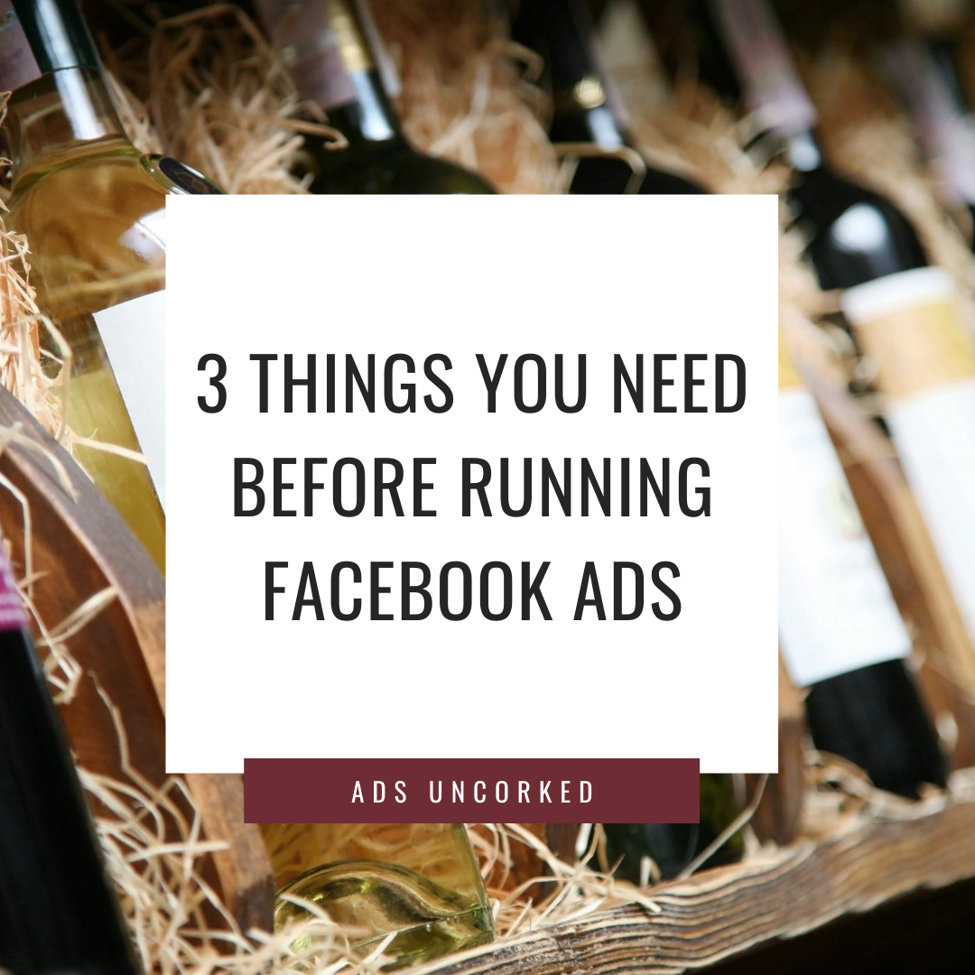 Top 3 things you need before running facebook ads