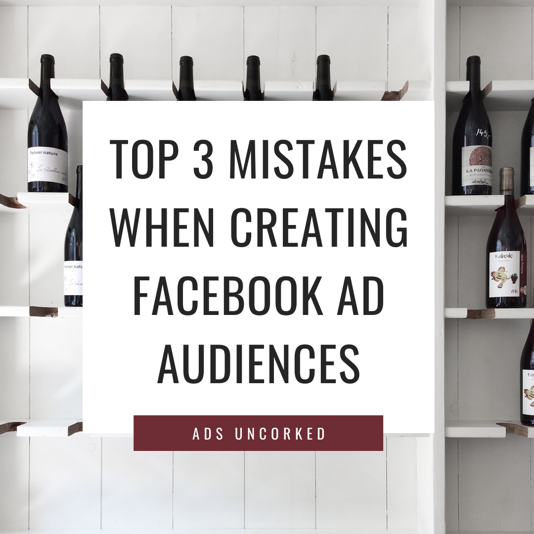 Top 3 mistakes to avoid that business owners make when creating facebook ad audiences to save you money and produce more quality leads.