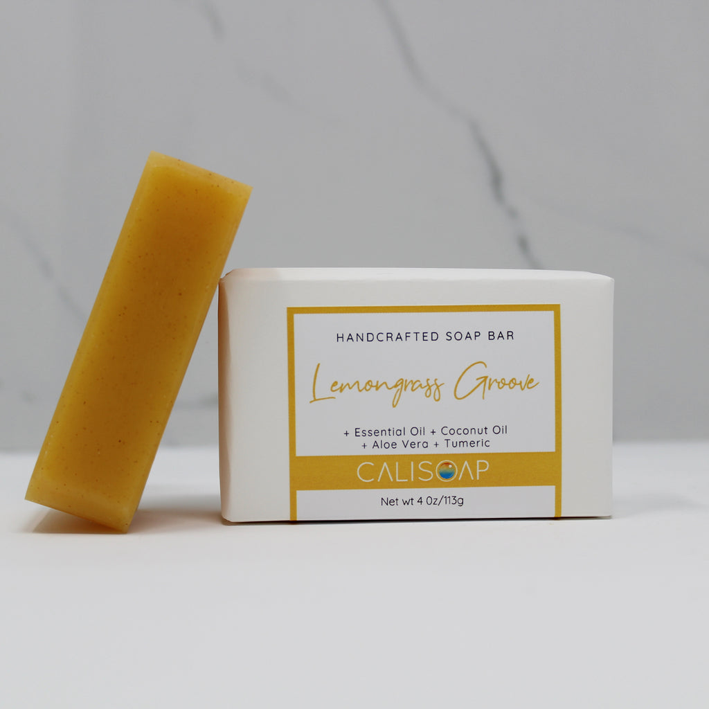 Lemongrass Groove - Essential Oil Body Soap