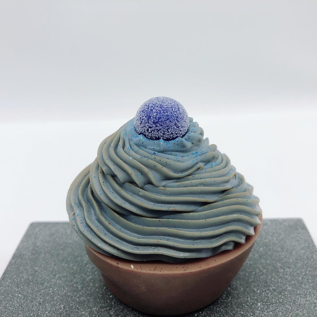 Blueberry Muffin Soap Cupcake