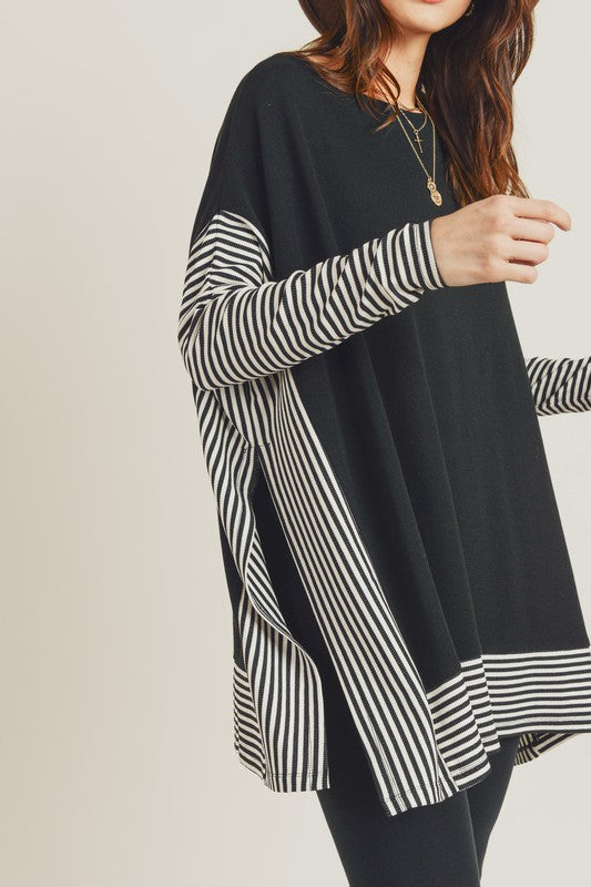 Oversized Cape Top