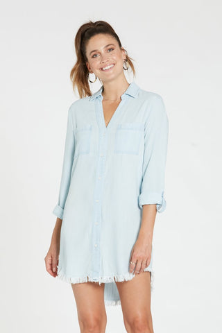 Avery Chambray Dress