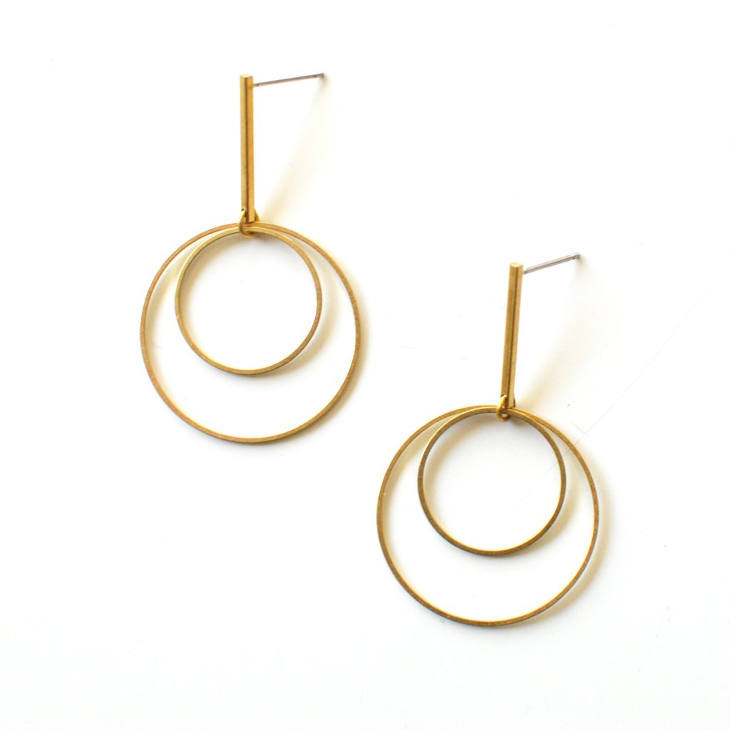 Orbit Drop Earrings