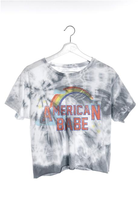 American Babe Classic Crop Tee