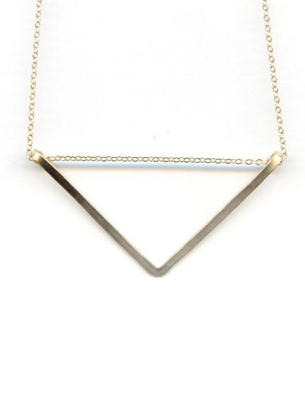Valerie Triangle Necklace