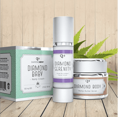 Sparkle on the inside and out with beauty products made from organic hemp and the purest natural ingredients. - Instagram Post from @diamondhempbeauty