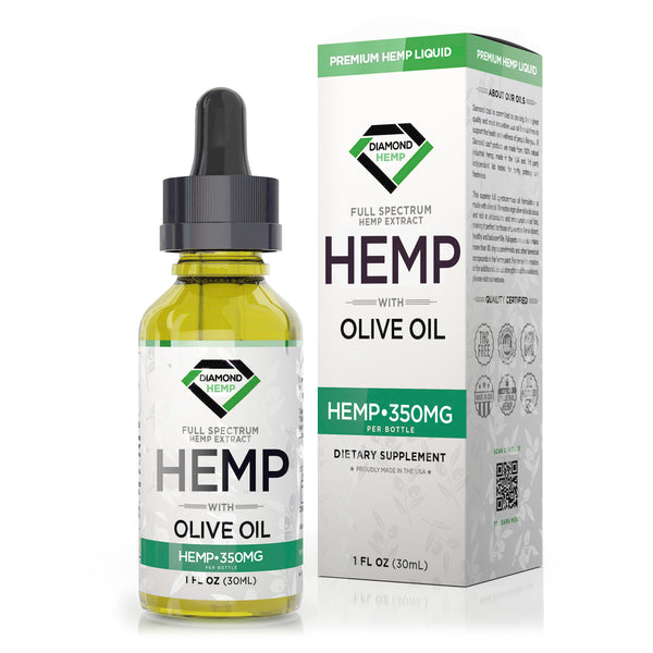 Diamond Hemp Full Spectrum Olive Oil - 30ml