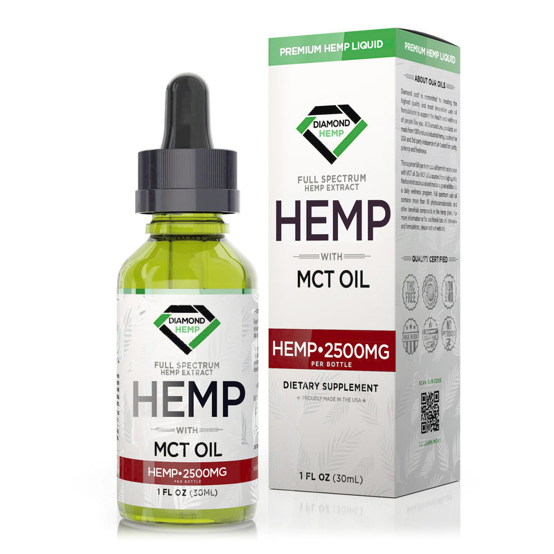 Diamond Hemp Full Spectrum MCT Oil - 30ml