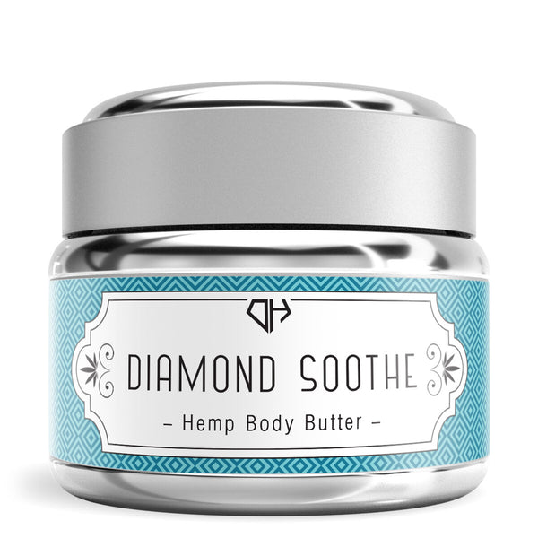 Hemp Body Butter Diamond Soothe - 100mg