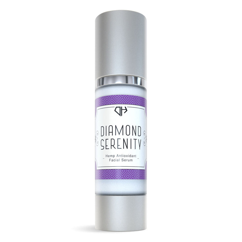 Hemp Antioxidant Facial Serum Diamond Serenity - 100mg