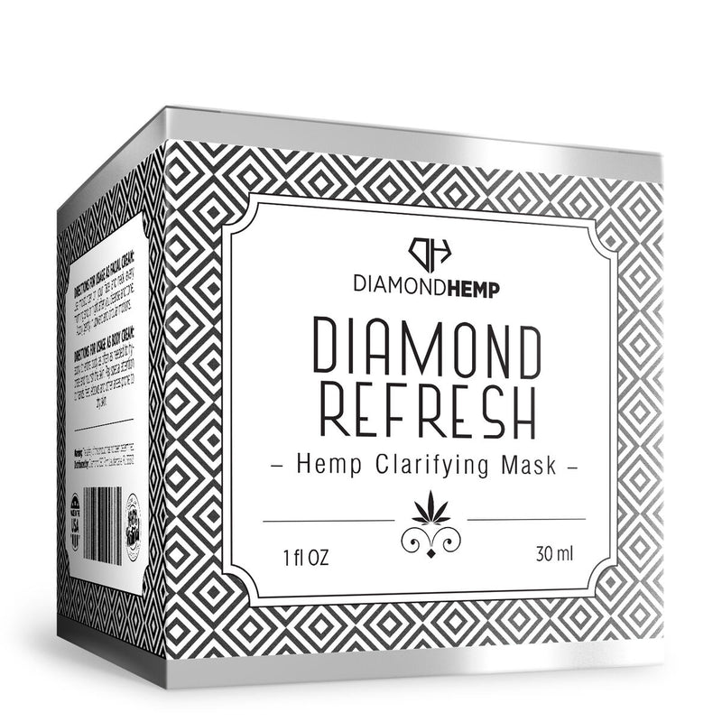 Hemp Clarifying Mask Diamond Refresh - 100mg