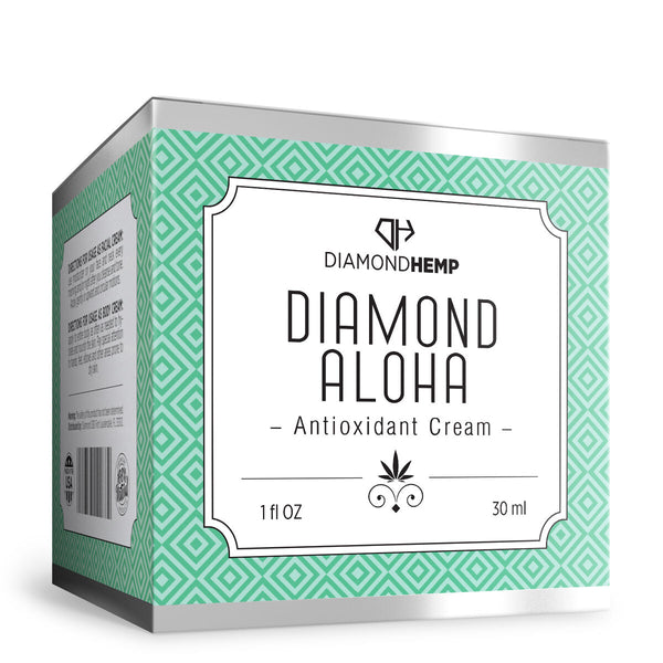Hemp Antioxidant Cream Diamond Aloha - 100mg