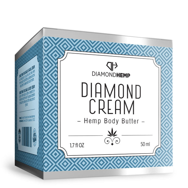 Hemp Body Butter Diamond Cream - 100mg