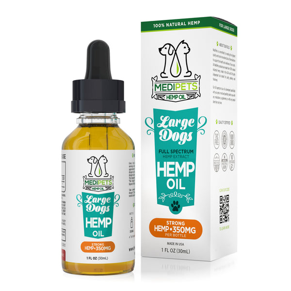 MediPets Hemp Oil for Large Dogs (30ml)