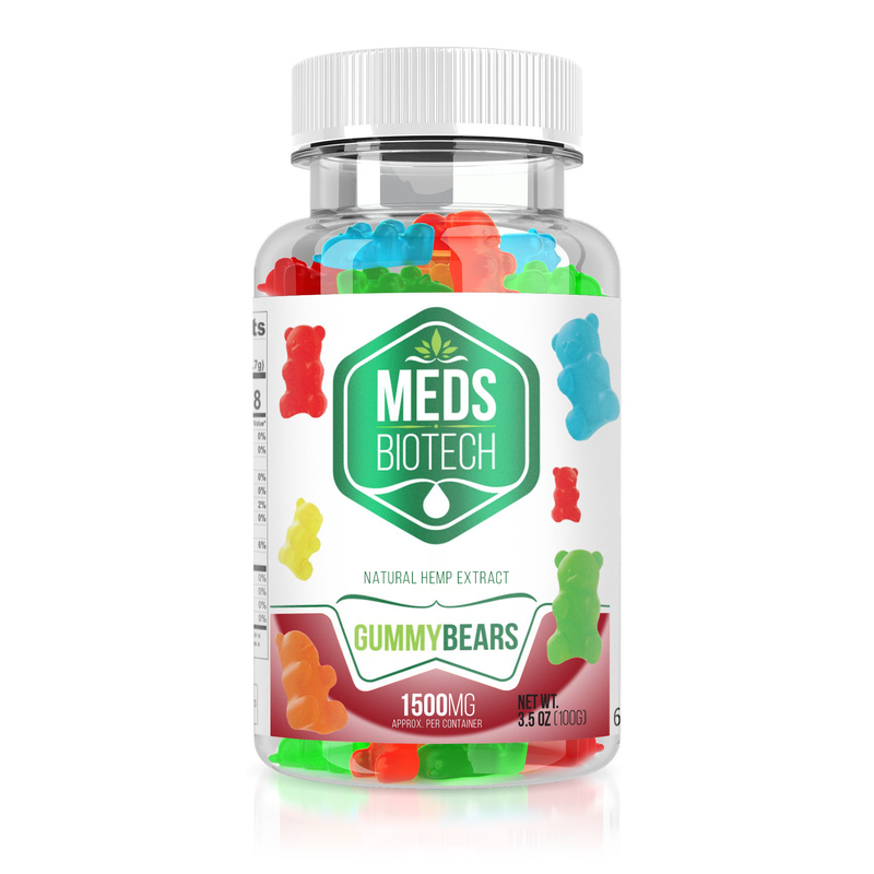 Meds Biotech Hemp - Gummy Bears