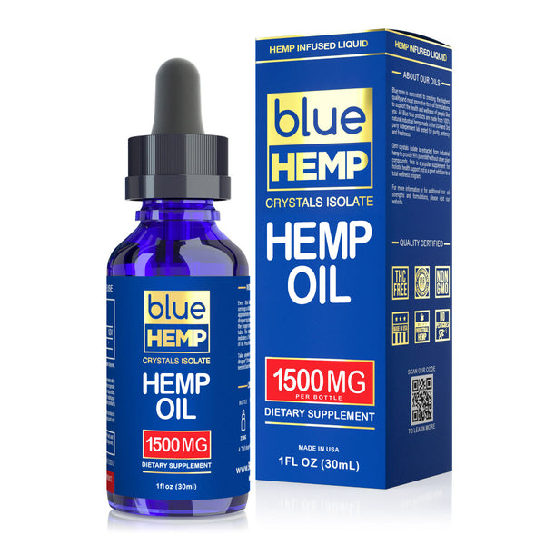 Blue Crystals Isolate Hemp Oil