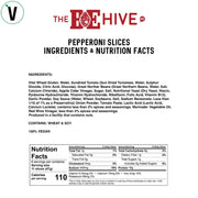BE-Hive Vegan Pepperoni Slices nutrition