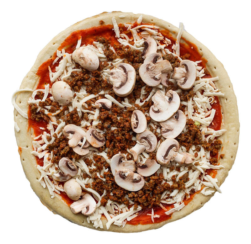 BE-Hive Vegan Garlic Mozzarella Pizza for pizzeria